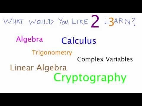 Ne Hakkında Matematik - Öneriler Lütfen Öğrenmek İstiyorum! :)