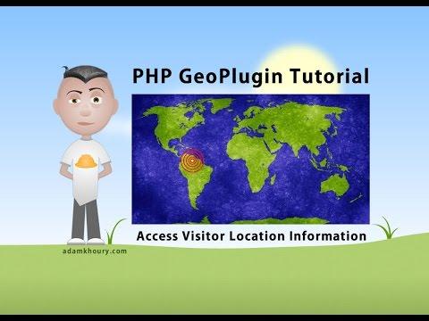 Php Geoplugin Dersleri Almak Kullanıcı Konum Bilgi Ip Algılama