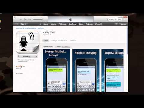 İphone Uygulaması Metin Konuşma : Mobil Uygulamalar