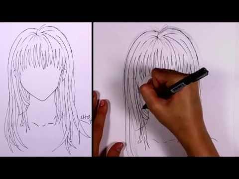 Nasıl Manga - Uzun Saç (Kız) Çizmek İçin | Mıt