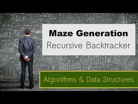 Özyinelemeli Backtracker Üretme Algoritması - Labirent
