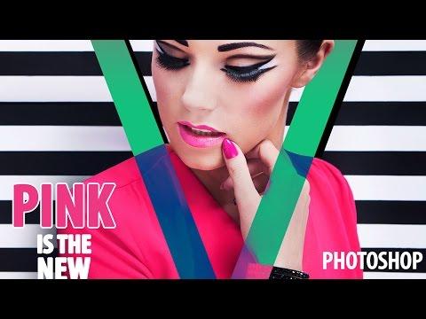 Nasıl Photoshop İçinde Çarpıcı Bir Dergi Kapağı
