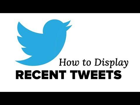 Nasıl Wordpress Twitter Widget İle Son Tweets Görüntülemek İçin