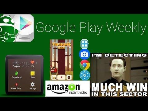 Daha Fazla Android Giymek, Oduncu Yaşam, Amazon Anlık Video - Google Oyun Haftalık Nefret Yapar