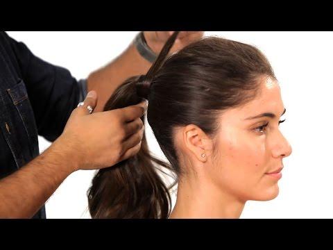 Nasıl Bir Sabit At Kuyruğu | Salon Saç Tutorial