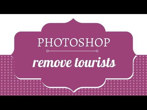 Photoshop - Kaldır Turist