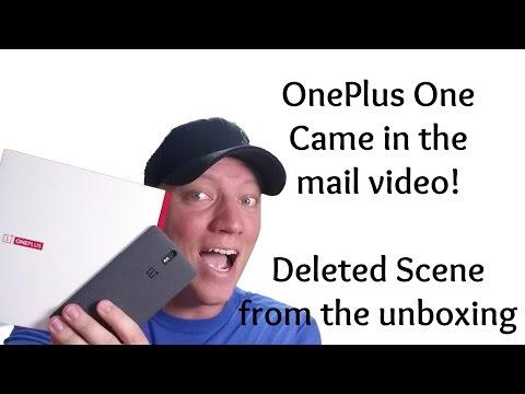 Oneplus Bir Erken Geldi! -Bu Unboxing Video Silinmiş Bir Sahne