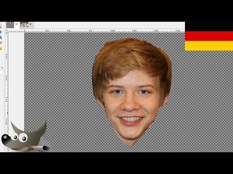 Öğretici: Kopf İçinde Anderes Bild Einfügen Mit Gımp (Almanca)