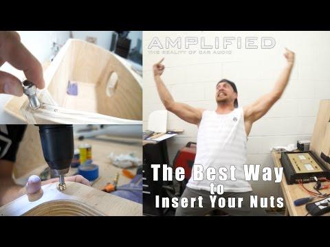 Insert Nuts - West Coast Huffer Yüklemek İçin Daha İyi Bir Yol!