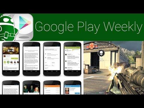 Modern Combat 5 Serbest, Yürüyen Ölüler Oyun Römork, Oyun Mağaza Güncellendi! -Google Oyun Haftalık