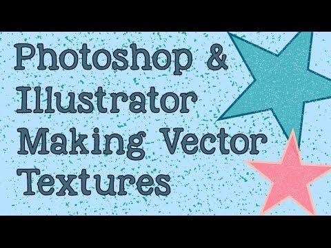 Photoshop Ve Illustrator - Make Vektör Dokular