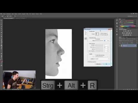 Öğretici: Anderes Bild Einfügen #2 Gesicht | Photoshop | Deutsch