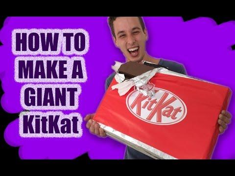 Dev Kit Kat Tarifi Nasıl İçin Cook Bu Ann Reardon Kitkat Çikolata Olun