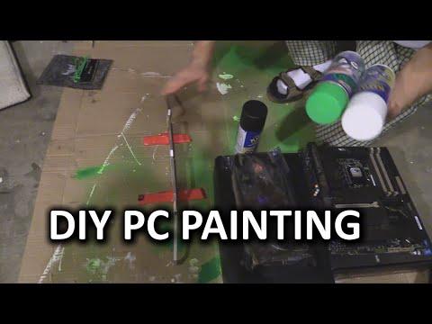 Nasıl Pc Parçaları - Linus Plasti Dıp Yöntemi Boya İçin