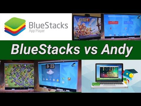 Bluestacks Vs Andy - En İyi Android Emülatör Pc