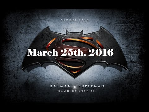 Batman V Superman: Şafak Adalet - 25Th Mart 2016 + 9 Dc Filmleri Tarihleri