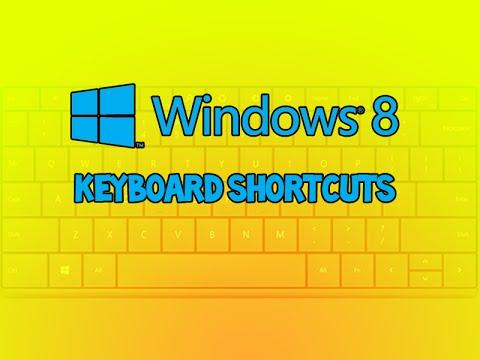 Windows 8 Klavye Kısayolları