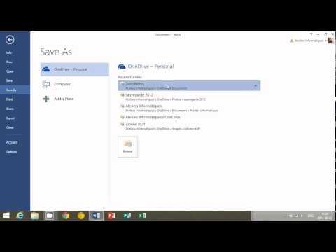 Microsoft Word 2013 Ders 3 Başlık Çubuğu Seçenekleri