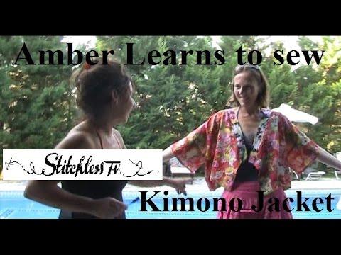 Nasıl Bir Kimono Ceket Dikmek İçin
