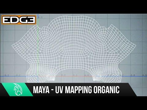 Maya Keyif Ve Hileci Öğretici - Uv Eşleme Organik Modelleri Hüner
