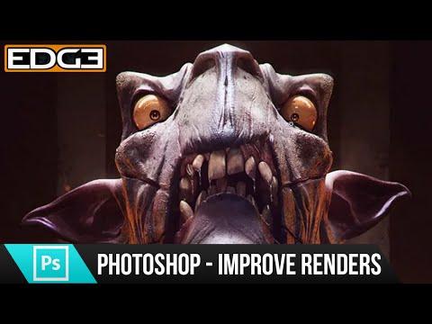 Photoshop Öğretici - Nasıl 3D Render Geliştirmek İçin