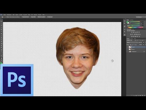 Nasıl Photoshop'ta Kafaları Değiştirmek İçin | İngilizce