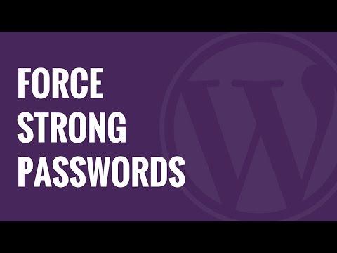 Nasıl Wordpress Kullanıcılar Üzerindeki Güçlü Şifre Zorlanır