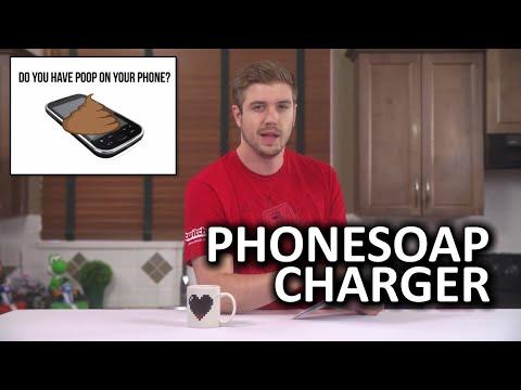 Phonesoap Şarj Cihazı - Telefonunuzda Kaka Var Mı?