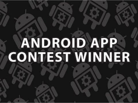 Android App Yarışması Birincisi