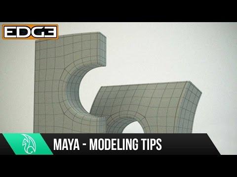 Maya 2015 Modelleme Eğitimi - Ara Teknikleri - Kemer Yolu