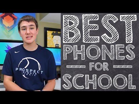 3 En İyi Okul Telefonları İçin Geri!