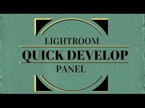 Lightroom - Hızlı Geliştirin Bir Görüntü İşlemek İçin Kullanma