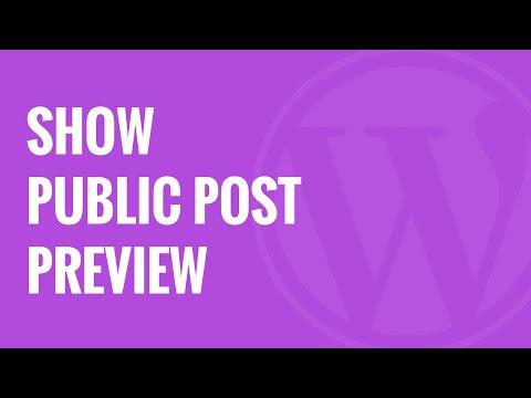 Nasıl Wordpress Genel Yazı Önizleme Yayımdan Kaldırılan Mesajlar Olanak