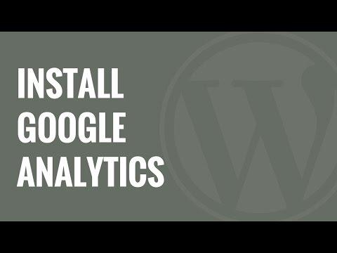 Nasıl Google Analytics Wordpress Siteniz İçin Yüklemek İçin