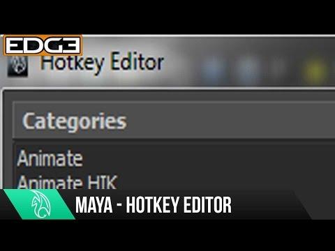 Maya Hotkeys / Klavye Kısayolları Öğretici Hd