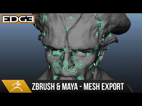 Zbrush Ve Maya Eğitimi - Mesh Verme Adet Hd Düzeltmek