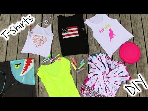 Dıy Giyim! 5 Dıy T Gömlek Projeleri - Cool!