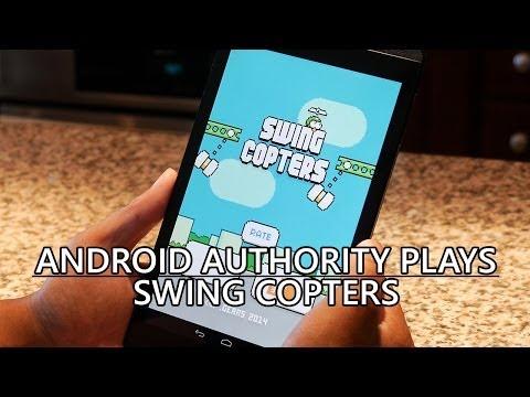 Android Yetkilisi Swing Helikopter Çalış