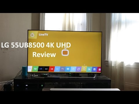 Lg 55Ub8500 55 Inch 4K Ultra Hd İnceleme [4K]