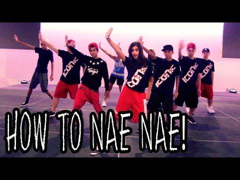 Nae Nae Yapılır | Öğretici Ft İkonik Boyz (Hip Hop Taşır) Dans