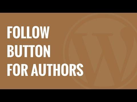 Nasıl Wordpress Yazarları İçin Facebook Takip Düğme Eklemek İçin