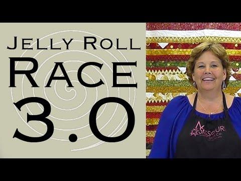 Jelly Roll Yarış 3.0! Jenny İle Kolay Kapitone!