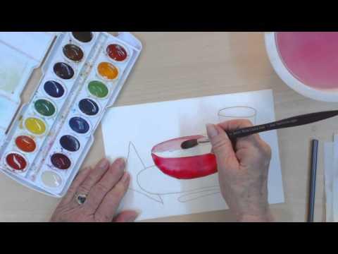 Çocuklar İçin Basit Resim Dersleri | Nasıl Çizmek Ve Bir Kase Çorba Boya | Cp