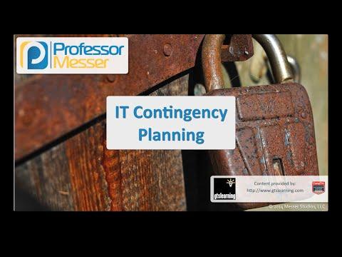 Bt Acil Durum Planlama - Sık Güvenlik + Sy0-401: 2.8