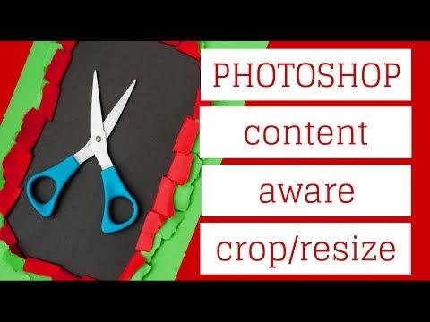 Photoshop - İçerik Duyarlı Ölçekleme