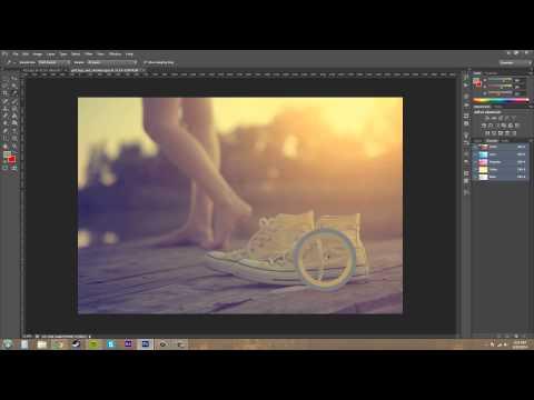 Photoshop Cs6 Öğretici - 88 - Intro Renk Kanallarına