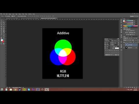 Photoshop Cs6 Öğretici - 89 - Rgb Renk Modu