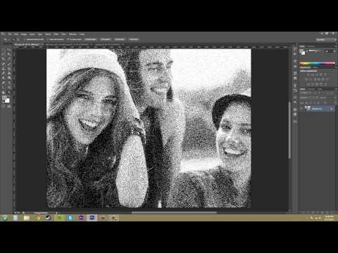 Photoshop Cs6 Öğretici - 92 - Bitmap Renk Modu