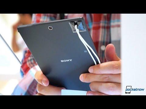 Sony Xperia Z3 Tablet Kompakt Ellerde