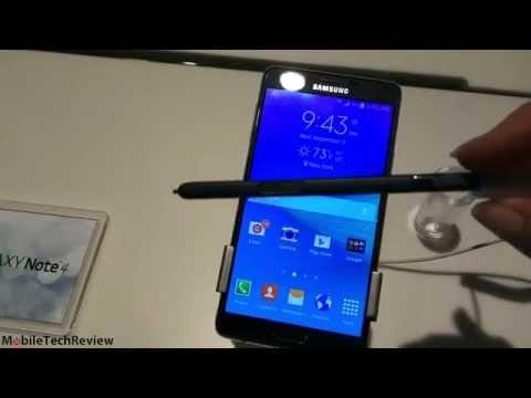 Samsung Galaxy Not 4 İlk Bakış